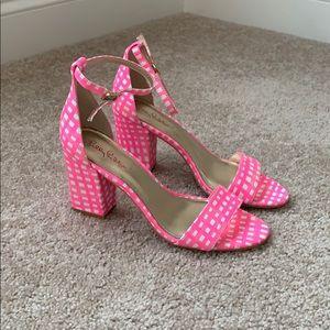NIB Lilly Pulitzer Amber Lynn pink sandals sz 8